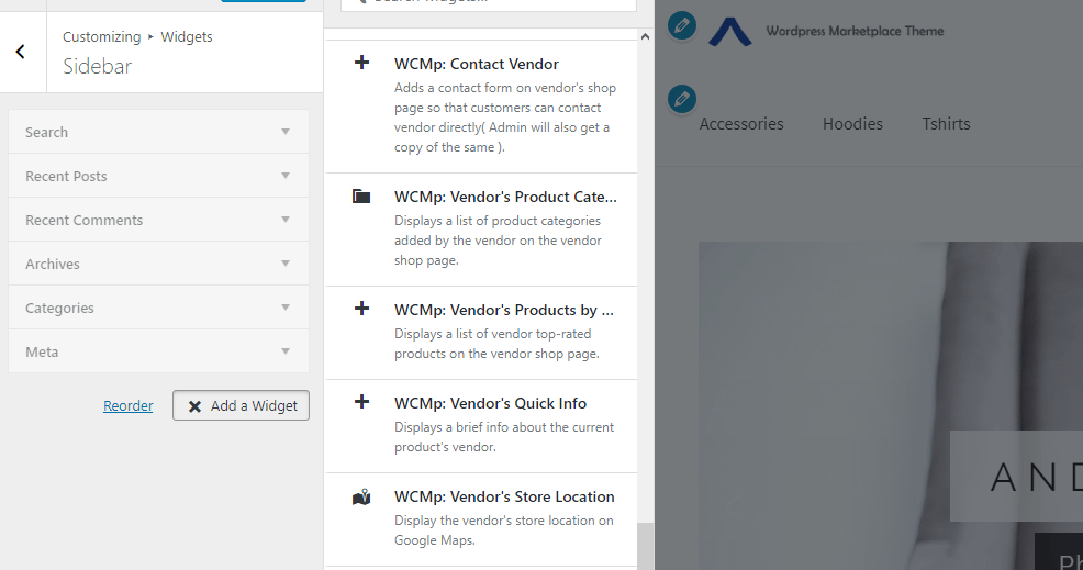 woocommerce wc marketplace multi vendor add vendor info to sidebar on single product page